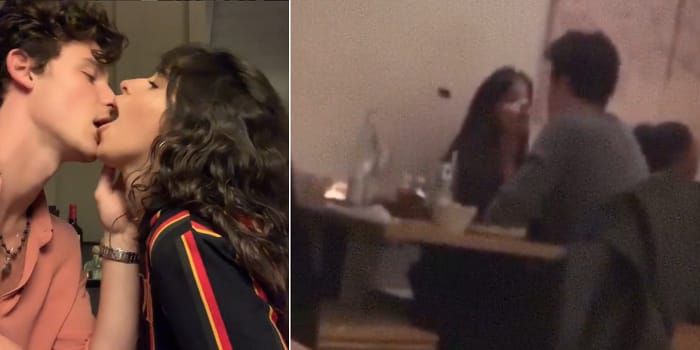 Camila Cabello And Shawn Mendes Spotted Licking And Awkward Kissing
