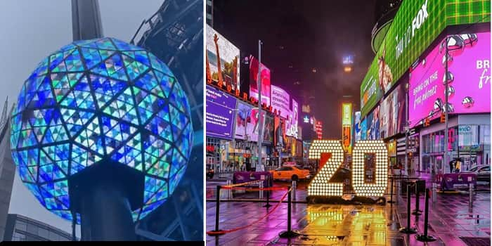 Times Square New Year's Eve Ball Drop Live Stream 2020