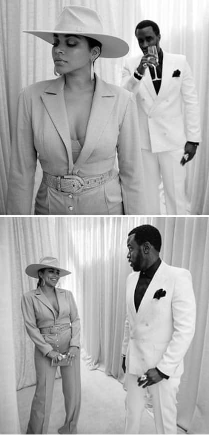 Diddy Shared Photos Of Himself And His New Girlfriend Lauren London, Diddy And Lauren London Are Dating Photos