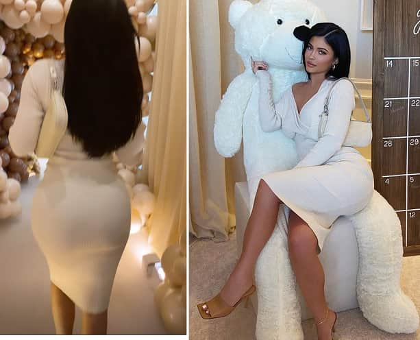 Kylie Jenner Looked Sexy With Her Curvy Body At Malika Haqq's Baby Shower