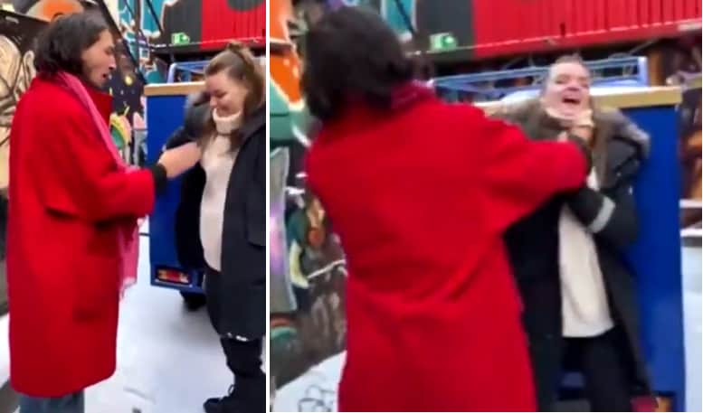 Ezra Miller Chokes A Woman At A Bar In Reykjavik Video, Ezra Miller Grabs Woman By Her Neck And Throws Her At Prikid Kaffihus Bar