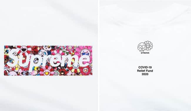 How To Buy Supreme's COVID-19 Relief Box Logo Tee, Supreme COVID-19 Relief Box Logo Tee Price