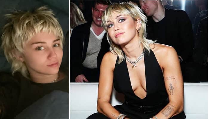 Miley Cyrus Mom Tish Cyrus Chopped Her Hair To New Style Pixie Mullet Sally Hershberger Helped Tish To Cut Miley S Hair On Facetime D Star News