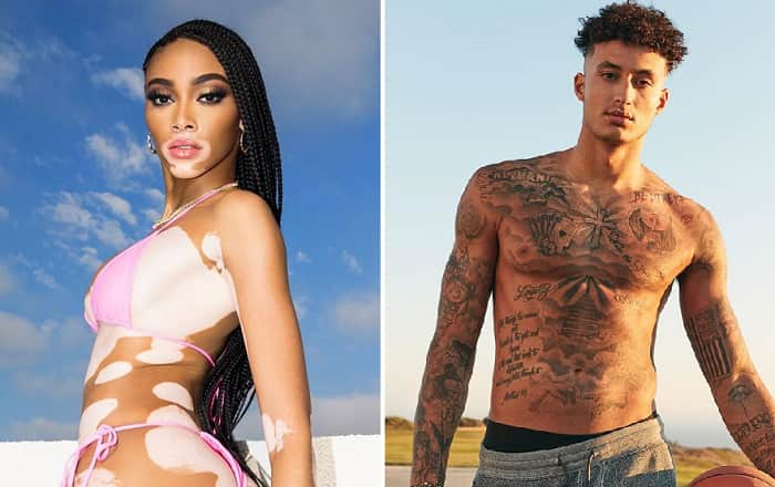 Winnie Harlow Dating La Lakers' Kyle Kuzma, Kyle Kuzma And Model Winnie Harlow Spotted Holding Hands