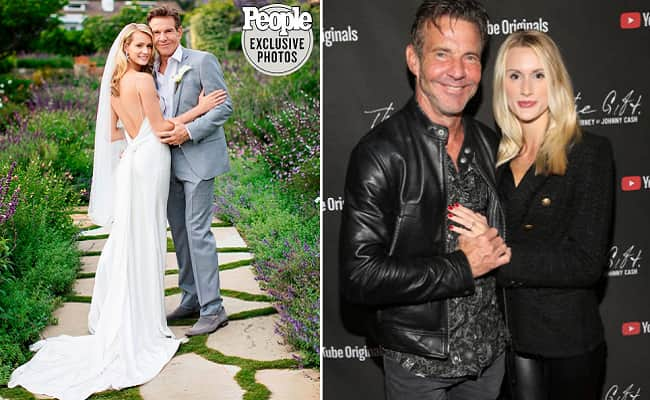 Dennis Quaid And Laura Savoie Are Married Secretly