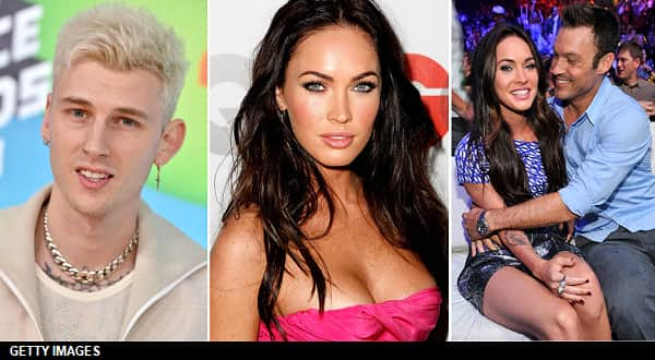 Megan Fox Kisses And Holds Hands With Machine Gun Kelly, Who Calls Megan His 'Girlfriend'