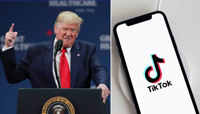 Trump Says He's Banning TikTok From Operating In The U.S.