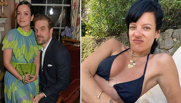 Lily Allen And David Harbour Marry In Las Vegas Ceremony