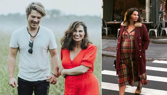 Taylor Hanson's Pregnant Wife Natalie Baby Bump
