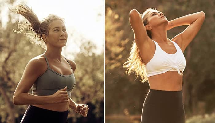 Jennifer Aniston Looks Incredible In Crop Top And Leggings For New Vital Proteins Ad