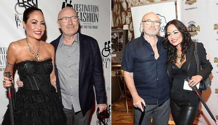 Phil Collins Ex Wife Orianne Cevey Claims Singer Became A Hermit Refused To Shower D Star News She was previously married to charles fouad mejjati and phil collins. phil collins ex wife orianne cevey