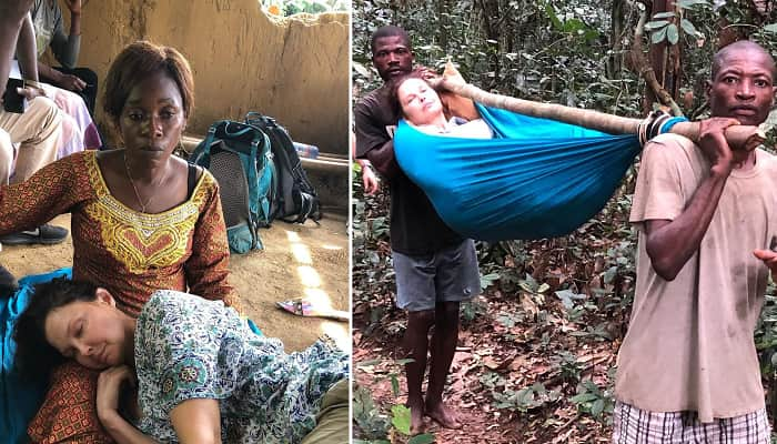 Ashley Judd Shares Photos From 'Grueling 55-Hour' Rescue Mission After Leg Injury In The Congo
