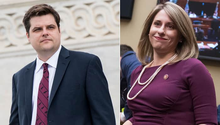 Katie Hill Talks Friendship With Matt Gaetz, Wants Him 'Held Responsible'