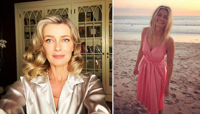 Paulina Porizkova Reacts To Criticism For Posing In Lingerie In Her 50s