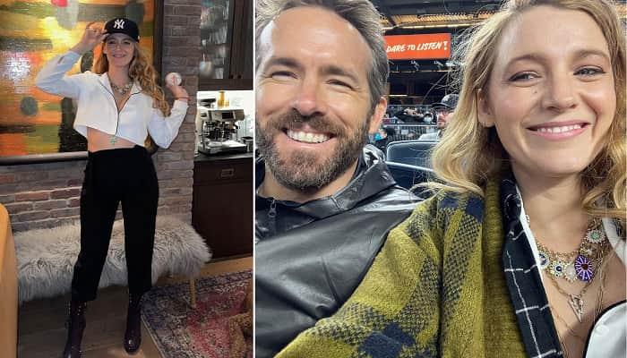 Blake Lively And Ryan Reynolds Share Photos From Date Night At Yankees Game