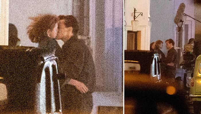 Harry Styles Shares A Passionate Kiss With The Crown's Emma Corrin As They Film New Movie My Policeman