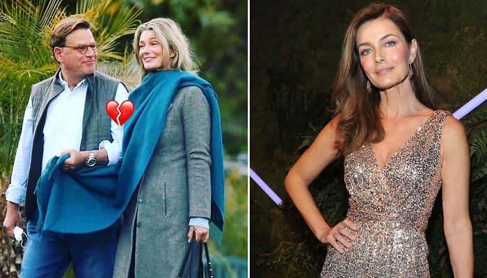 Paulina Porizkova Announces She Split From Aaron Sorkin 3 Months After Red Carpet Debut