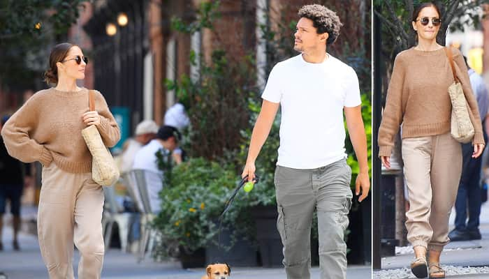 Trevor Noah And Minka Kelly Step Out For Romantic NYC Walk 2 Months After Getting Back Together